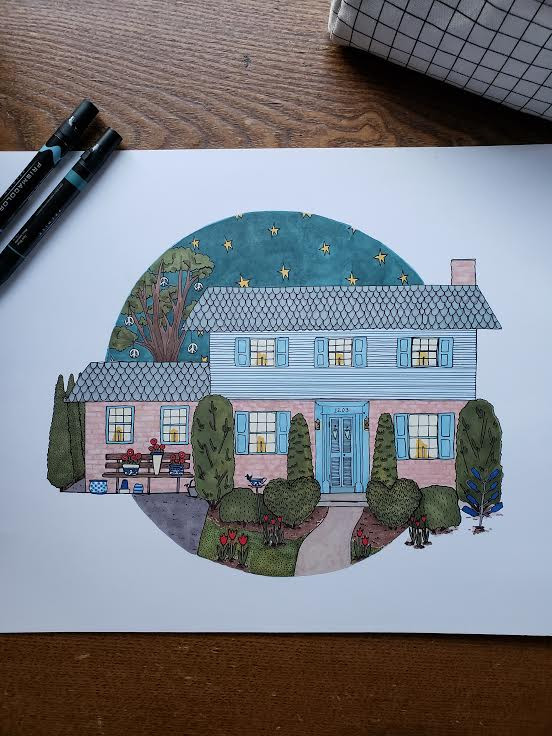 58 year housetrait