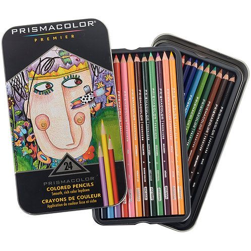 Prismacolor Premier Colored Pencils, 24 piece