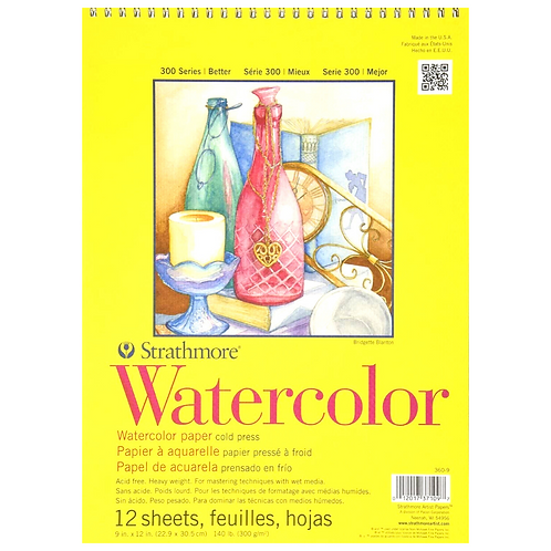 Strathmore 300 Series Watercolor Tablet