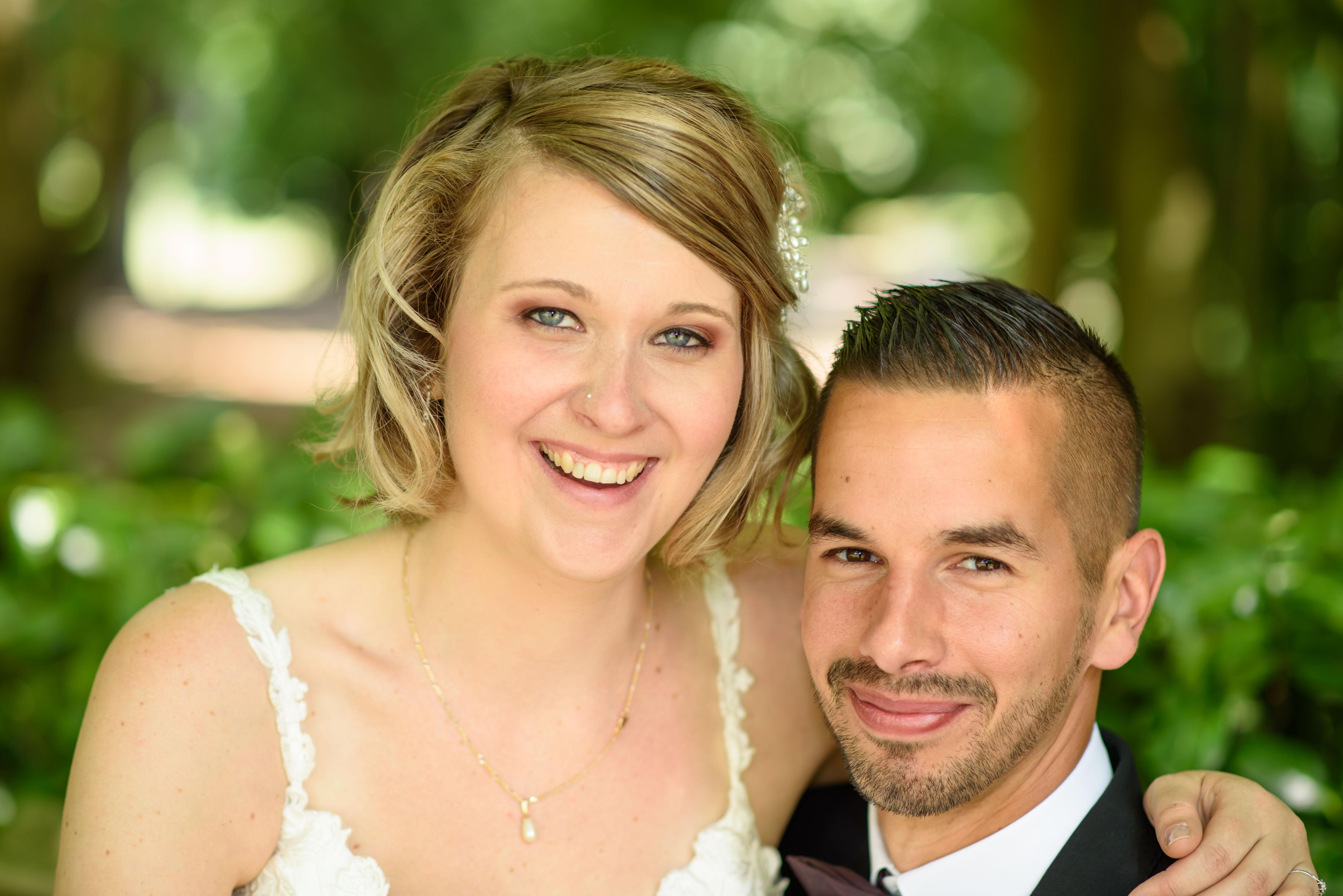 Huwelijksfotografie close up