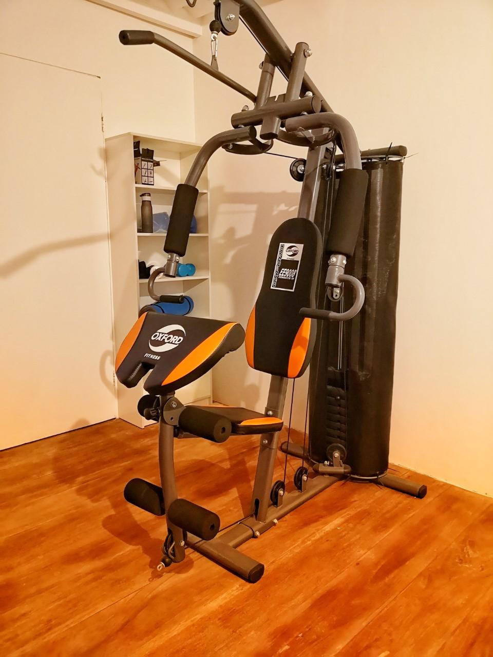 gimnasio equipamiento