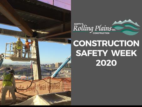 Construction Safety week September 14-18