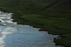 Hofsos, Skagafjardarsylsa, Iceland