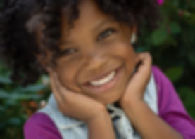Lawrenceville GA photographer - Lovelee Photography - Child Model Headshot - High Museum