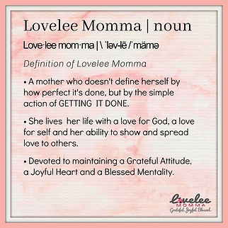 The Lovelee Momma Blog - Lovelee Momma D