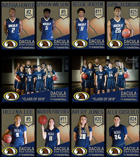 Lawrenceville photographer Lovelee Photography sports photography - Dacula High School Basketball Team Seniors