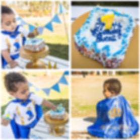 Lawrenceville Newborn Photographer - Lovelee Photography - Cake Smash Session