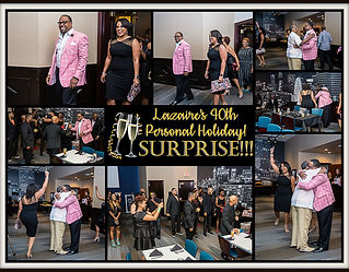 Collage-Lazaire's 40th Personal Holiday