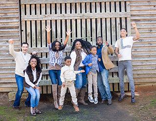 Lawrenceville photographer Lovelee Photography Family Portrait Session image