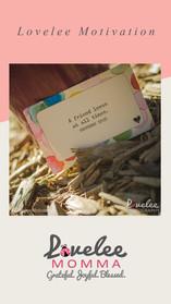 Lovelee Motivation - IG Stories - Prover