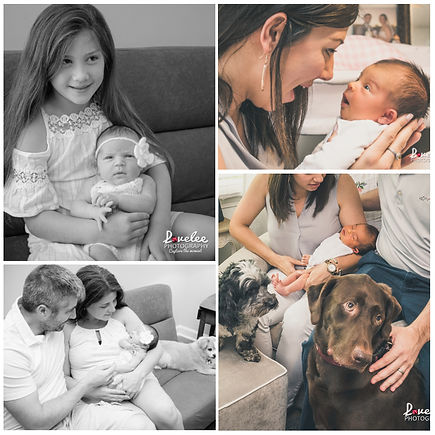 Lawrenceville Newborn Photographer - Lovelee Photography - Lifestyle Newborn Session