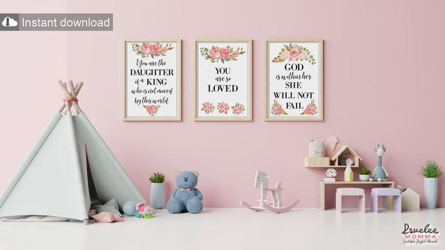 Series 3 - The Lovelee Momma Art & Decor Collection