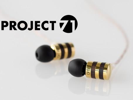 全世界300台限定!オーディオブランドDITAの新製品、全てが新開発のダイナミック型イヤホン「PROJECT 71」発売決定!