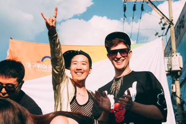 daegu2.jpgKorean Queer Artist Heezy Yang at Daegu Queer Culture Festival aka Daegu Pride