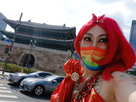 This Is What Seoul Pride Looked Like in 2021 During the COVID-19 Pandemic