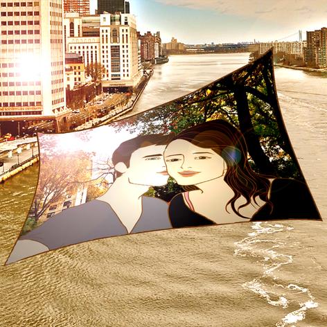 On The Bridge (Graphic Novel) by Korean Queer Artist Heezy Yang
