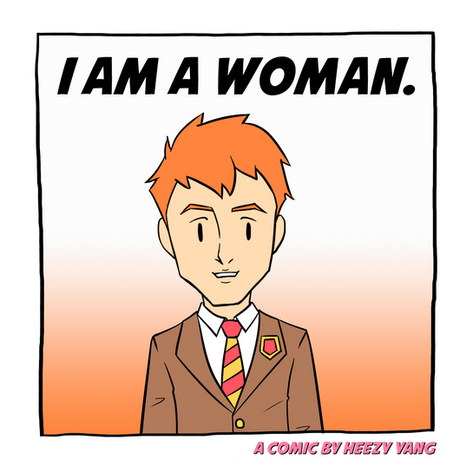 I Am A Woman by Korean Queer Artist Heezy Yang