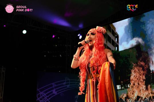 Korean Queer Artist Heezy Yang aka Drag Queen Hurricane Kimchi