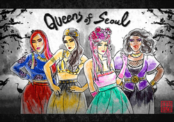 Queens Of Seoul by Heezy Yang