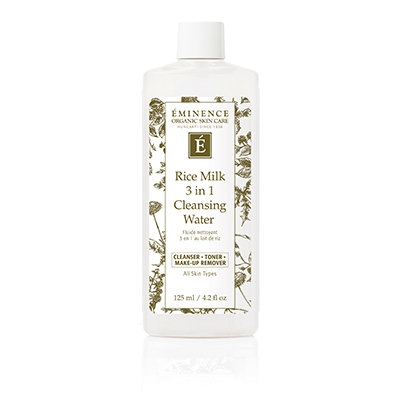 Eminance Organic Skin Care - Rice Milk 3 in 1 Cleansing Water