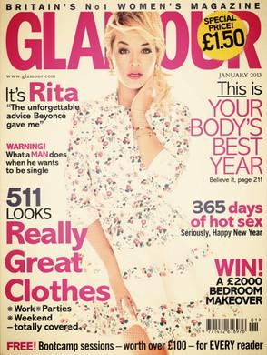 Glamour | January 2013