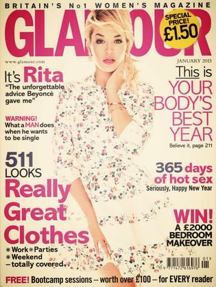 Glamour   January 2013