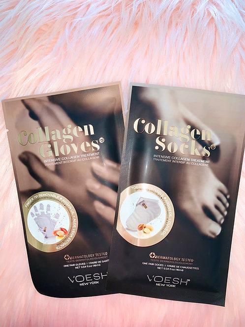 Bundle Pack: Collagen Socks + Gloves