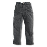 B136 - Washed-Duck Double Front Work Dungaree
