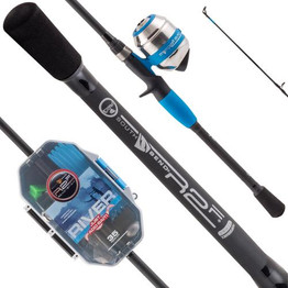 Ready2Fish River Just Add Bait - Spincast Combo