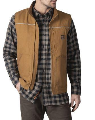 Walls Coleman Sherpa-Lined Duck Vest, YE869