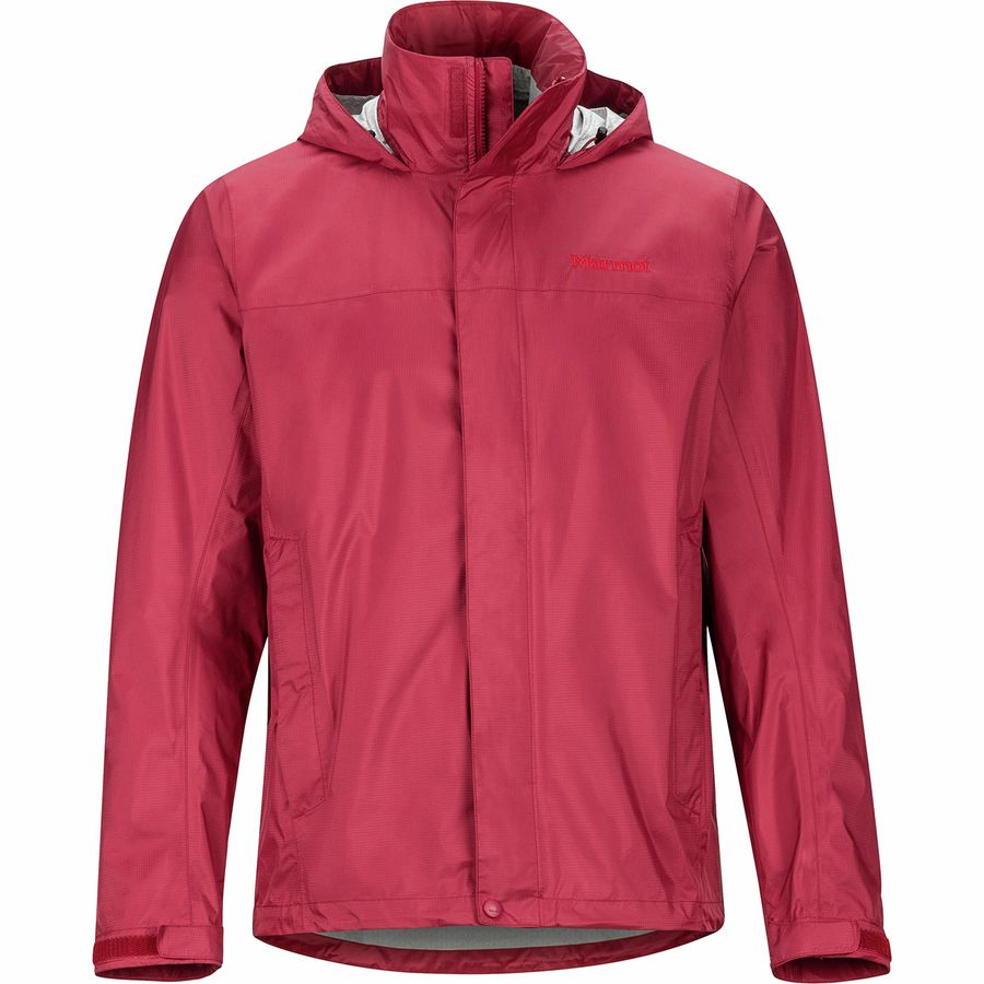 marmot mens eco precip red brick