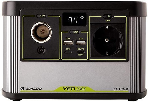 Goal Zero Yeti 200X Power Generator