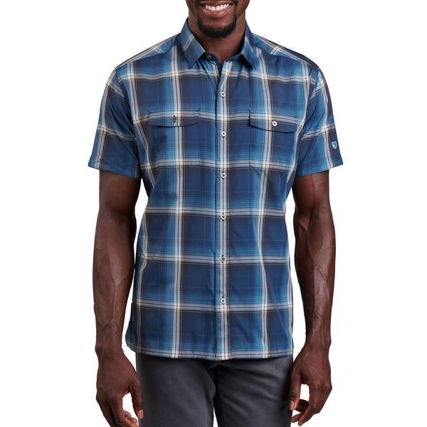 Kuhl Men's Response Shirt, Baltic Blue