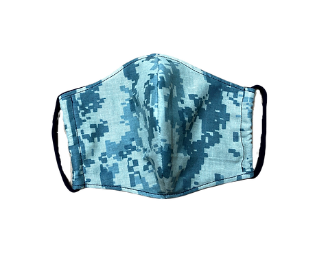 Handmade adult mask - Digital Camouflage