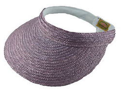 Scala sun visor purple