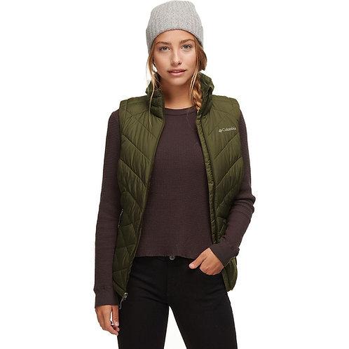 Columbia Women's Heavenly Vest, Olive Green