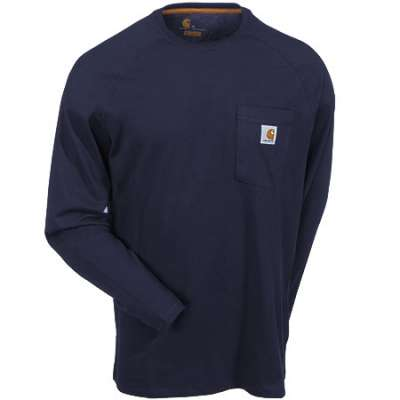 100393 carhartt navy shirt