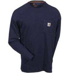 100393 carhartt navy shirt