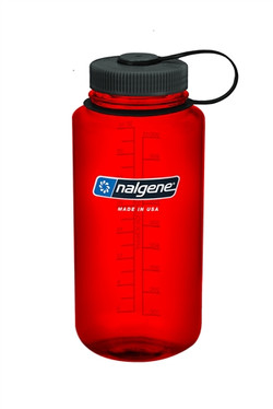 nalgene 32 wm red