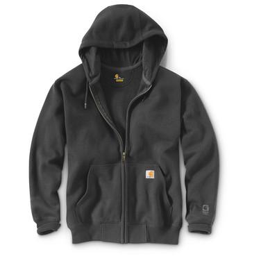 Paxton Zip Heavyweight Hooded Sweatshirt