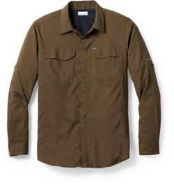Columbia Sliver Ridge LS shirt Olive gre