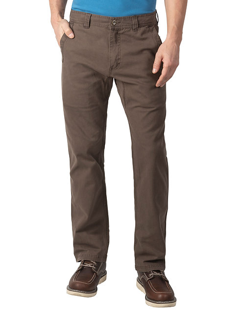 Walls Kick It Stretch Duck Pant Y3811, Bark Brown WBBY