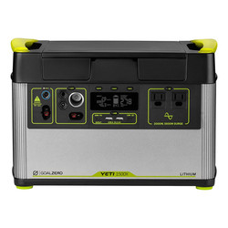Goal Zero Yeti 1500X portable power stat