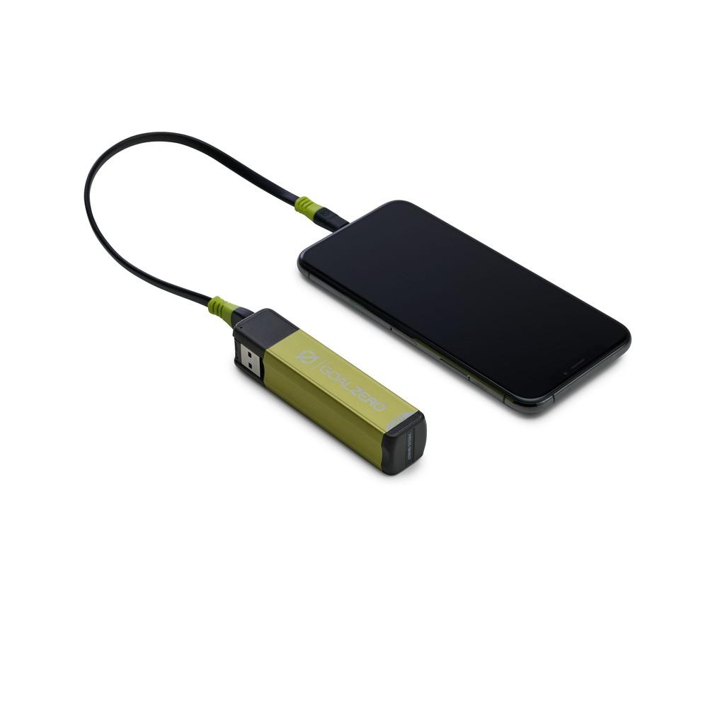 Goal Zero Flip 12 green charging
