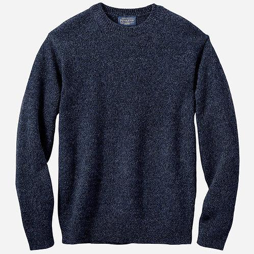 Pendleton Men's Shetland Washable Wool Crewneck Sweater