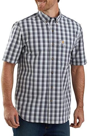 104174 - Carhartt Relax Fit Lightweight Plaid Shirt