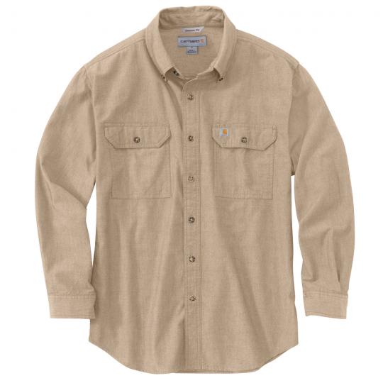 104368 LS shirt tan