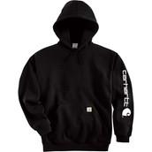 Midweight Hooded Logo Sweatshirt