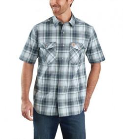 104171 carhartt shirt blue