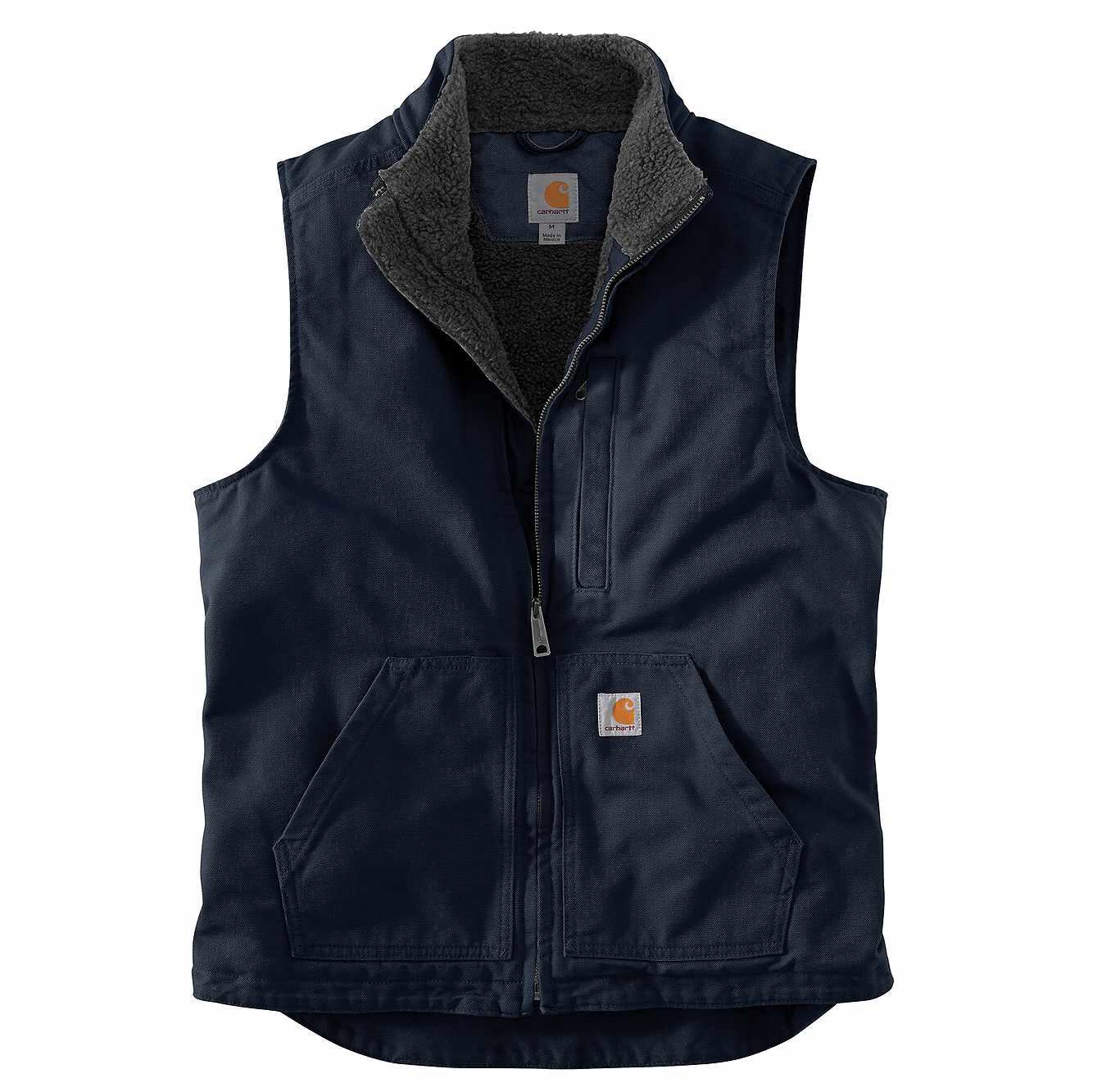 Carhartt vest navy 104277-I26